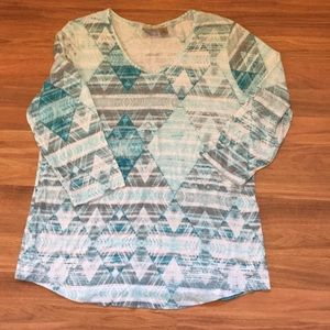 Chico's Easywear Tunic Sz 2/Large